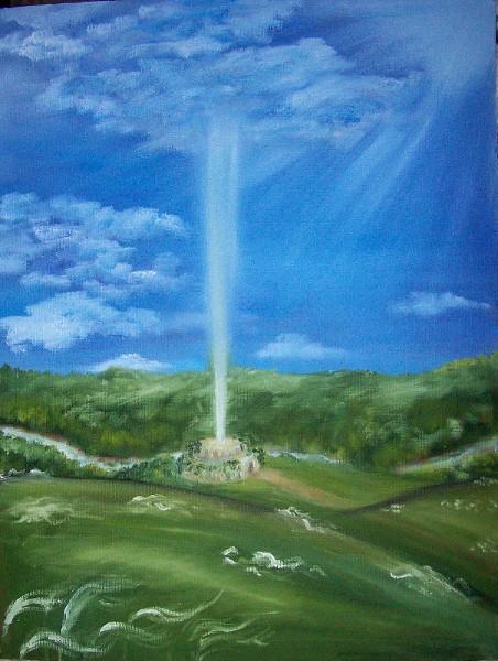 Небо соединяется с Землёй