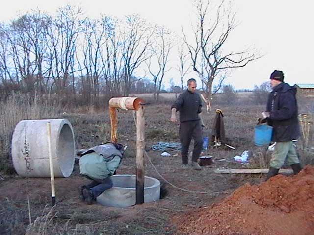 Как быстро выкопать колодец