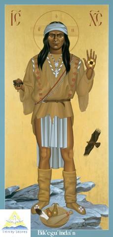 Индейские православные иконы, написанные католическим священником.